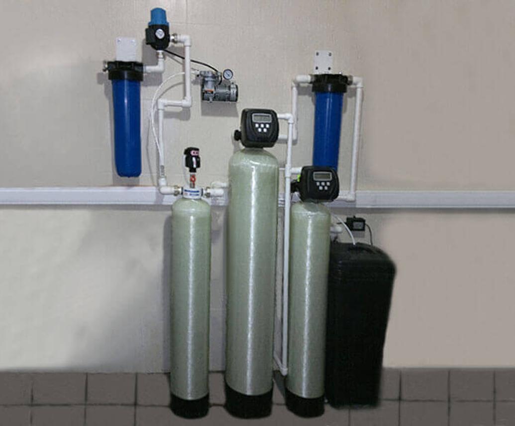 Ионообменный фильтр для удаления кальция и магния